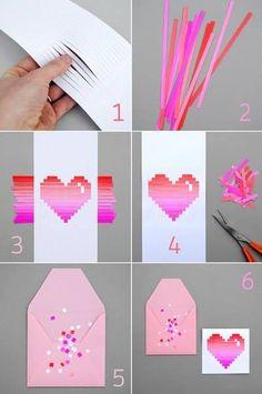 Quilling 3d heart