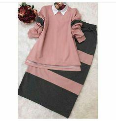 Abaya Fashion, Muslim Fashion, Modest Fashion, Fashion Dresses, Modest Outfits, Casual Dresses, Hijab Fashionista, Kurta Neck Design, Hijab Style