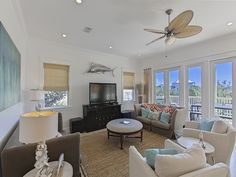 OMG! by the Sea is a stylish vacation home located just south of 30A in South Walton..