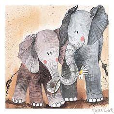 elephant  by Alex Clark - Поиск в Google