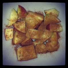 Little b's healthy habits: Apple Cinnamon Protein Recipe