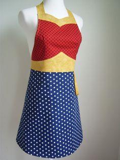 Amazing Wonder Woman apron!   #apron