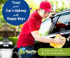 Trust your car's upkeep with Happy Bays – the place to go for in Calgary when it comes to riding your loved car in its clean and sparkling avatar.