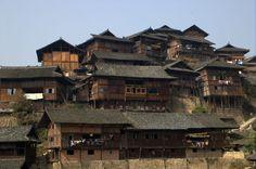 Qianhu Miao Village in Xijiang #travel #photography #China