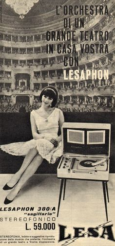 Lesa advertisement, Italy 1964 Shootingitaly.it / Francesca Sottilaro