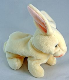 Ty Beanie Baby NIBBLER the Rabbit Bunny 8