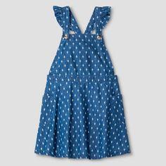Toddler Girls' Shortalls Genuine Kids® from OshKosh® - Chambray : Target