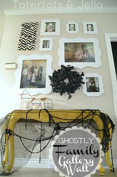 halloween family gallery wall 2