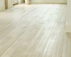 Job we installed white oak rift and quartered with woca for Warmboard alternative