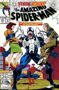 The Amazing Spider-Man (Vol. 1) 374 (1993/02) 3/23/2016 ®....#{T.R.L.}