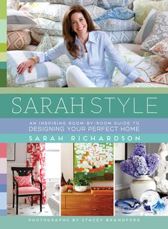 First look! I'm so excited to reveal the cover of my upcoming design book - Sarah Style! And guess what? You can pre-order your copy for only $16 at Indigo.ca using the promo code: SARAHSTYLE14.  But hurry, this offer only lasts until Sunday, August 10, 2014!
