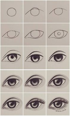 Step by step eye tutorial eyetutorial tutorial eye drawing otherpwHow to draw an eye~ This was done with alcohol markers, but could really be done with any material.Eye Tutorial by Drawing Tutorial for Occasional ArtistsPaigeeWorld is a community for Easy Drawing Tutorial, Eye Drawing Tutorials, Easy Drawing Steps, Eye Tutorial, Drawing Tips, Art Tutorials, Drawing Sketches, Drawing Drawing, Drawing Faces