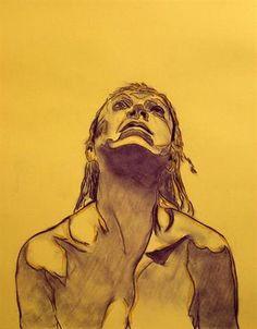 """Tomas Quigley, """"Sanctus I"""", oil painting"""