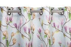 A Loja do Gato Preto | Cortinado Magnólia Azul @ Cortina Magnolia Azul #alojadogatopreto #cortinado #cortina #texteis #textiles
