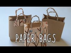 New Post diy paper bag tutorial visit Bobayule Trending Decors Cookie Wrapping Ideas, Paper Bag Wrapping, Gift Wrapping Tutorial, Diy Paper Bag, How To Make A Paper Bag, Paper Gift Bags, Paper Gifts, Diy Wrapping, Puffy Paint