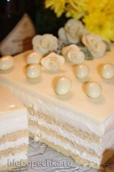"""Торт """"Опера в белом"""""""