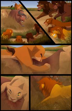 S reign: chapter page 2 by king lion коро Lion King Story, Lion King Fan Art, Lion King 2, Lion King Movie, Disney Lion King, Arte Disney, Disney Fan Art, Kingdom Hearts 1, Lion Hunting