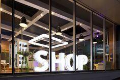 Award winning Telecom Store in Auckland CBD, New Zealand