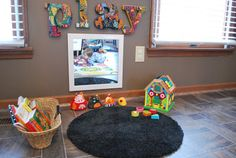 4 Infant/toddler play nook ideas for the home