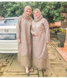 Kebaya Modern Hijab, Kebaya Hijab, Kebaya Dress, Dress Pesta, Dress Brokat Muslim, Dress Brokat Modern, Model Kebaya Muslim, Model Kebaya Brokat Modern, Muslim Dress