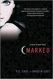 Book about a young girl that is Marked to become a vampire. Very good series.