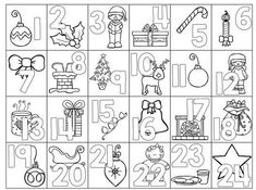 24 Days of Christmas Printables – Day ready for the Christmas countdown with this cute no-prep advent calendar coloring page! 24 Days of Christmas Printables – Day ready for the Christmas countdown with this cute no-prep advent calendar coloring page! Advent For Kids, Advent Calendars For Kids, Kids Calendar, Calendar Numbers, Calendar 2017, School Calendar, Christmas Countdown, Christmas Colors, Winter Christmas
