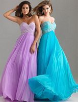 Bridesmaid dresses : wedding blue bridesmaid dress purple Turquoise And lavender. YES! just add straps :) the color of these dresses are going to be the colors of my wedding. :D