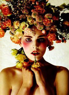 flower headdress!