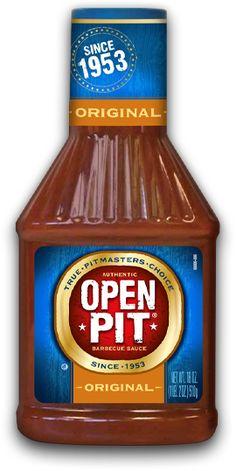Open Pit BBQ sauce