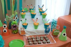 Monsters Birthday Party Ideas | Photo 11 of 13