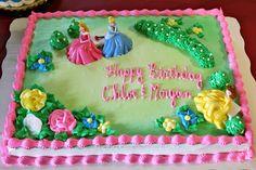 Disney Princess Sheet Cake Disney princess sheet cake