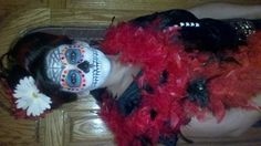 Day of the Dead Hair Style