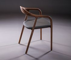 Neva Chair is a minimalist design created by Croatia-based designers Ruđer Novak-Mikulić & Marija Ružić. The Neva Chair is available in six . Custom Made Furniture, Solid Wood Furniture, Furniture Design, Furniture Outlet, Diy Chair, Sofa Chair, Swivel Chair, Chair Cushions, Poltrona Design