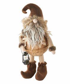 Christmas Comfort Holly Gnome Figurine