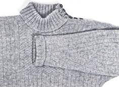Hailuodon perinneneule, valmistusohje   Punomo Joko, Knitting Projects, Knit Crochet, Men Sweater, Turtle Neck, Sewing, My Style, Sweaters, Handmade