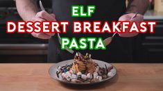 """""""Binging with Babish: Buddy's Breakfast Dessert Pasta"""" [Misc] #recipes #food #cooking #delicious #foodie #foodrecipes #cook #recipe #health"""