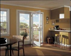 Elegant Patio Doors Renovation Before Old Sliding Door