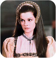 Genevieve Bujold as Anne Boleyn in 'Anne of the Thousand Days.'