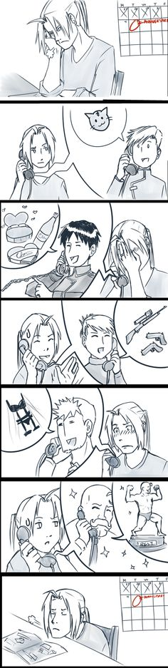 Anniversary by persnickety-doodles (get her a new wrench!- so that she has one that's not stained with Ed's blood)