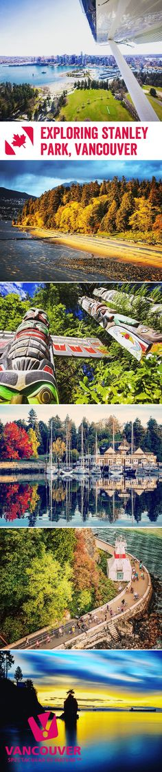 From lush evergreen forests and sandy beaches, to an aquarium and mini waterpark, there's plenty to see and do in Vancouver's Stanley Park. So grab your map, and let's explore