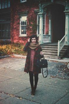 Vestidos para el otoño