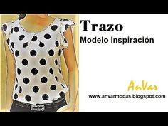 Diy Fashion, Fashion Outfits, Mexican Dresses, Handmade Crafts, Diy Crafts, Simple Dresses, Blouse, Polka Dot Top, Casual