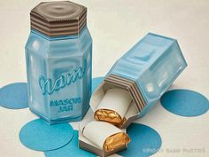 Crafts with Jars: Mason Jar Party Favor Boxes