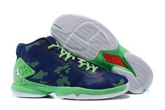 Jordan Super.Fly IV Insignia Blue Ghost Green White New Basketball Shoes