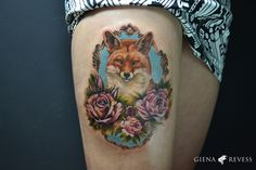 Realism tattoo wallpaper Fox Tattoo, Wolf Tattoos, Photo Realism Tattoo, Tattoo Touch Up, Color Tattoo, Tattoo Photos, Tattoo Inspiration, Tattoos For Women, Tatting