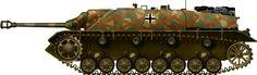Jagdpanzer IV, Kampfgruppe Von Luck, Normandy, June 1944.