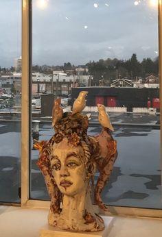 untitled - studio view by Suzy Birstein Suzy, Figurative, Sculptures, Studio, Hair Styles, Hair Plait Styles, Hair Makeup, Studios, Hairdos