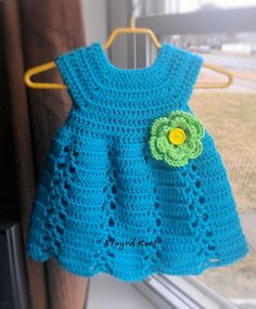 Looking for crocheting project inspiration? Check out Ribbon & Lace Infant Dress by member Frayed Knot.
