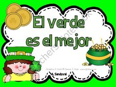 St. Patrick's Day Activities in Spanish ~ Angelica-Sandoval on TeachersNotebook.com