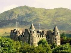 Atholl Palace Hotel, Perthshire - boasts 48 acres and the scenic beauty of the surrounding Highlands Unique Hotels, Beautiful Hotels, Beautiful Places, Amazing Hotels, Scotland Castles, Scottish Castles, The Places Youll Go, Places To Go, Pitlochry Scotland